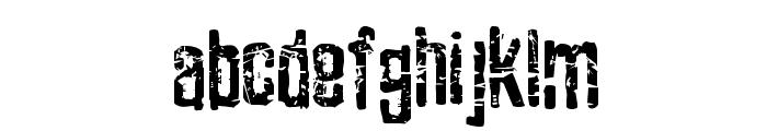 Zubajda Grng Font LOWERCASE