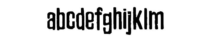 Zubajda Rg Font LOWERCASE