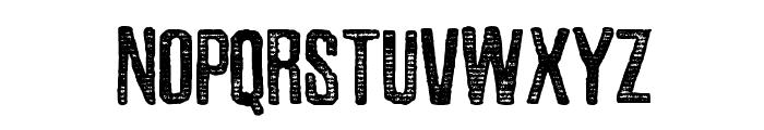Zubajda Str Font UPPERCASE