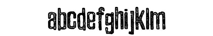 Zubajda Str Font LOWERCASE