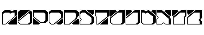 Zuber future Font UPPERCASE