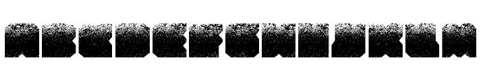 Zuber stone Font UPPERCASE