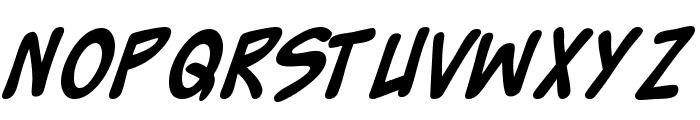 Zud Juice Bold Font UPPERCASE