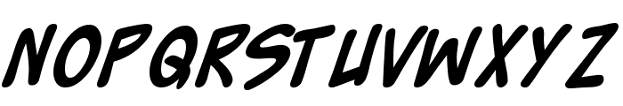 Zud Juice Bold Font LOWERCASE