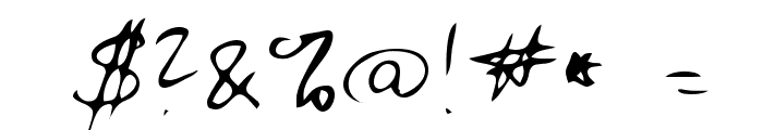 Zuerbig Font OTHER CHARS