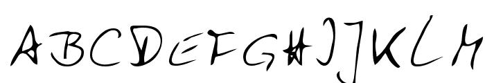 Zuerbig Font UPPERCASE