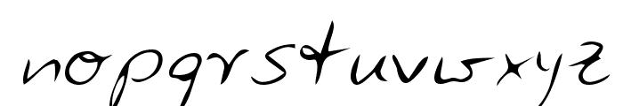 Zuerbig Font LOWERCASE