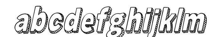 Zuka Doodle Font LOWERCASE