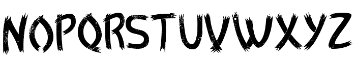 Zulm Cool Font LOWERCASE