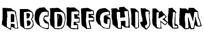Zupagargonizer T Font LOWERCASE