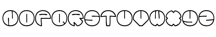 Zurklez Outline BRK Font UPPERCASE