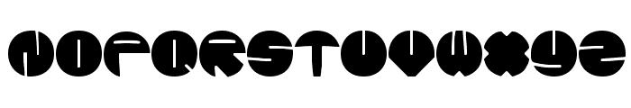 Zurklez Solid BRK Font UPPERCASE