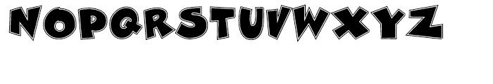 Zubilo Inline Font UPPERCASE