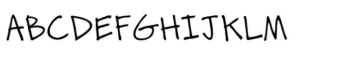 Zurdo Regular Font UPPERCASE