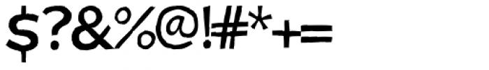 Zubizarreta Sobria Font OTHER CHARS