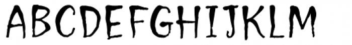 Zugarbody Font UPPERCASE