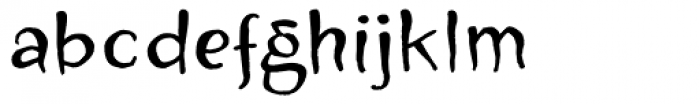 Zugarbody Font LOWERCASE
