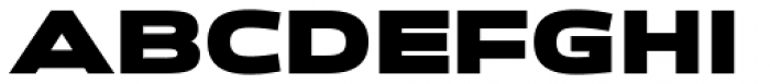 Zupra Sans Black Font UPPERCASE