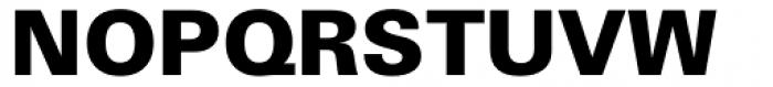 Zurich WGL Black Font UPPERCASE