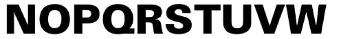 Zurich WGL4 Black Font UPPERCASE