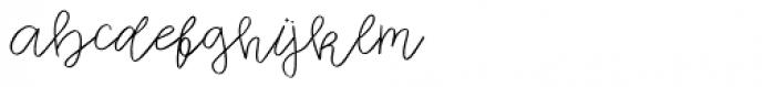 Zuris Regular Font LOWERCASE
