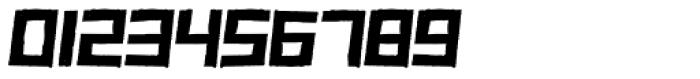 Zurita Oblique Font OTHER CHARS