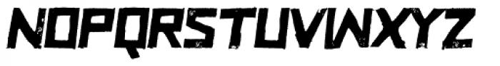 Zurita Oblique Font UPPERCASE
