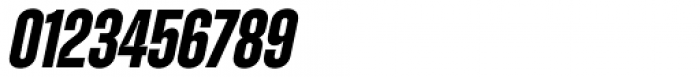 Zuume Cut Bold Italic Font OTHER CHARS