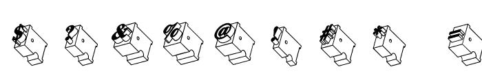 Zwiebelfisch Font OTHER CHARS