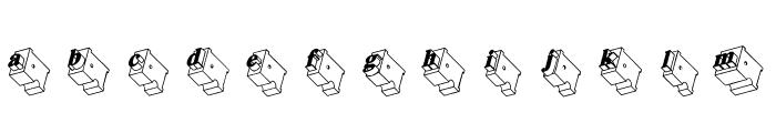 Zwiebelfisch Font LOWERCASE