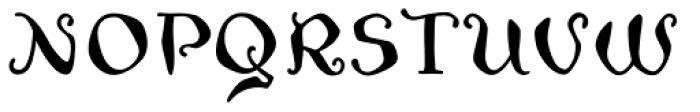 Zwoelf Font UPPERCASE