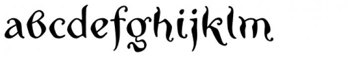 Zwoelf Font LOWERCASE