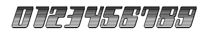 Zyborgs Chrome Italic Font OTHER CHARS