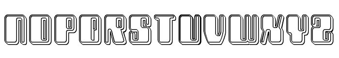 Zyborgs Engraved Font LOWERCASE