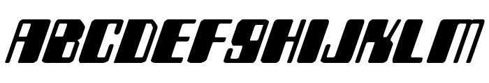 Zyborgs Italic Font LOWERCASE