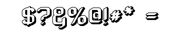 ZyphyteOffset Font OTHER CHARS