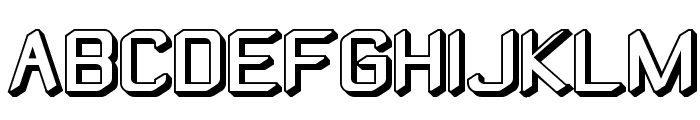 ZyphyteOffset Font UPPERCASE