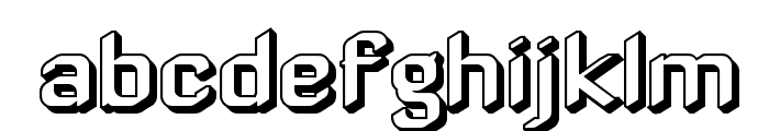 ZyphyteOffset Font LOWERCASE