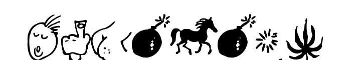 zyxox Font OTHER CHARS
