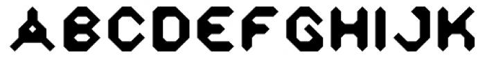 Zyprexia Bold Font UPPERCASE