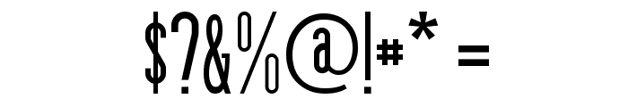 Zzyzx Font OTHER CHARS
