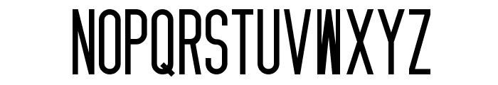 Zzyzx Font UPPERCASE