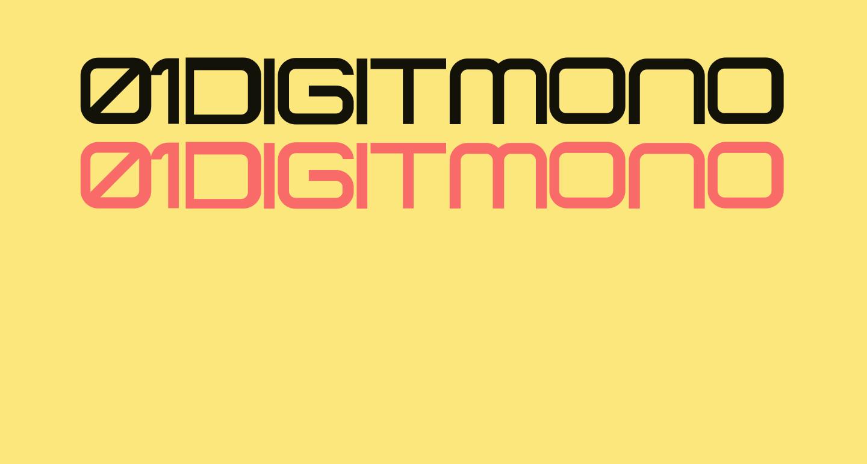 01 DigitMono