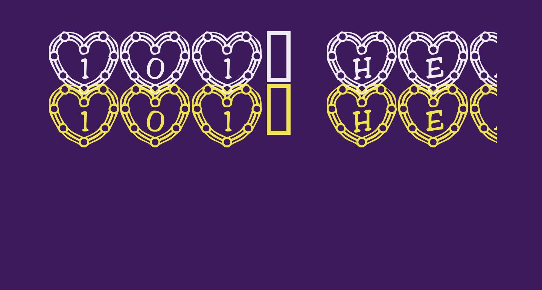 101! Heart Deco