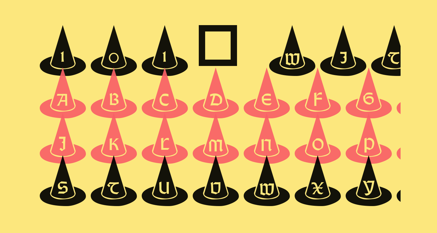 101! Witches Hat