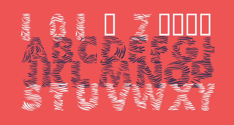 101! Zebra Print