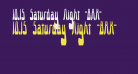 10.15 Saturday Night -BRK-