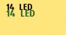 14 LED
