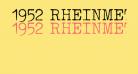 1952 RHEINMETALL
