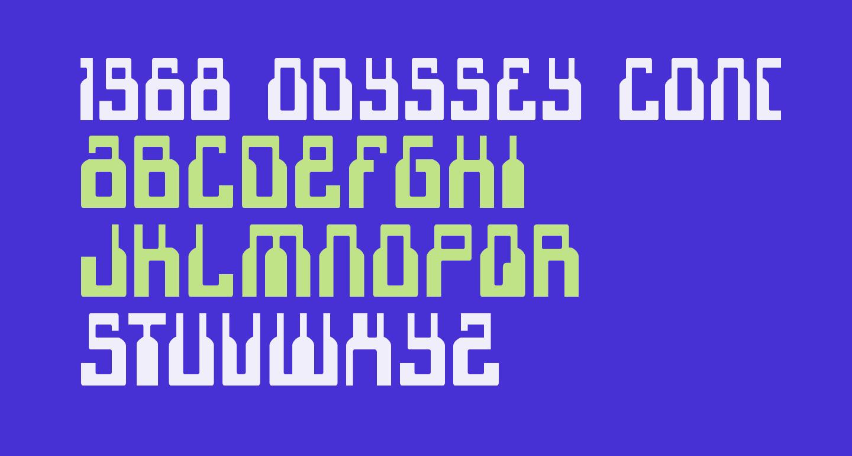 1968 Odyssey Condensed